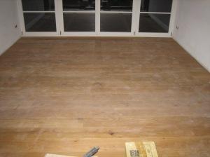 Holzdielenboden verlegen 001